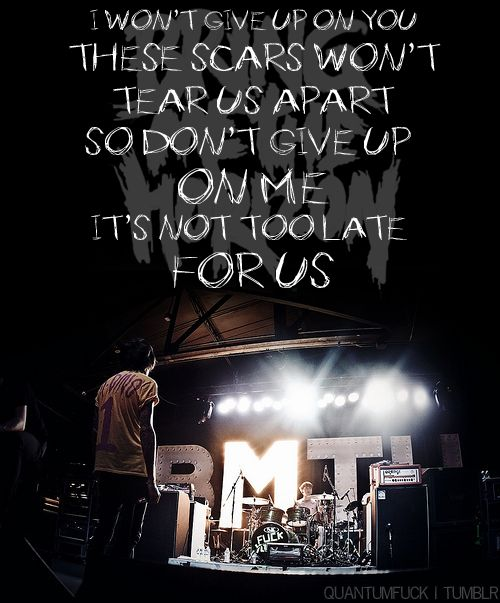 Bmth Quotes: Inspirational Quotes From Bring Me The Horizon. QuotesGram