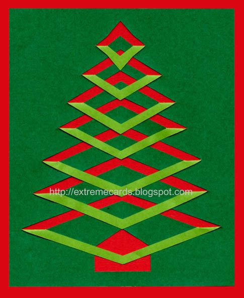 incire tree: Trees Cards, Christmas Cards, Incir Christmas, Valentines Ideas, Cards Ideas, Incir Trees, Paper Christmas Trees, Christmas Ideas, Paper Crafts