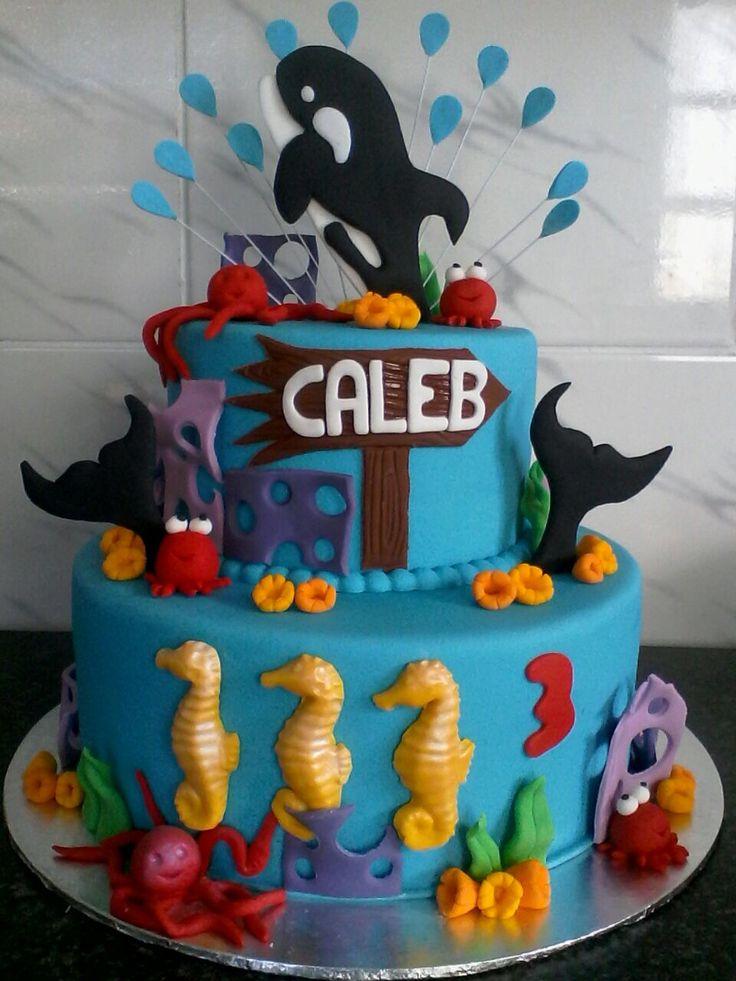 Killer whale birthday cake.. Gluten and wheat free!!