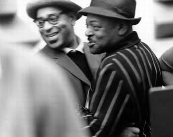 Dizzy Gillespie and Coleman Hawkins
