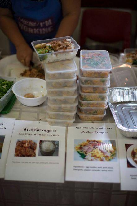 thai, food, cuisine, bain-marie, fair, perth, take-away