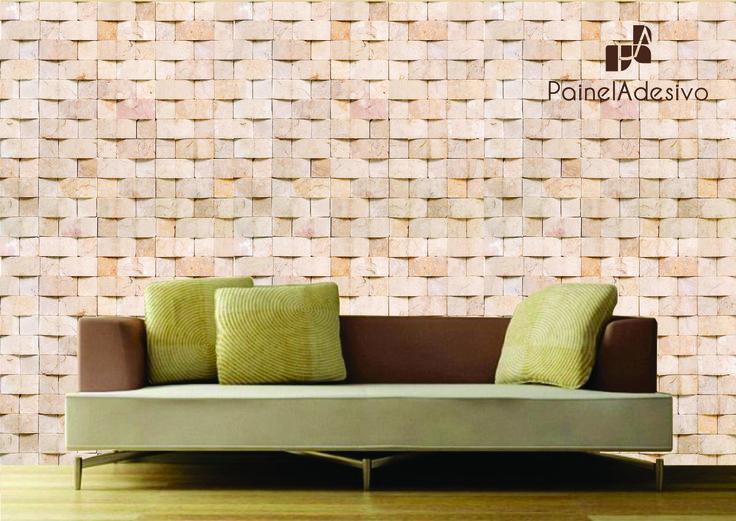 mosaico em painel adesivo