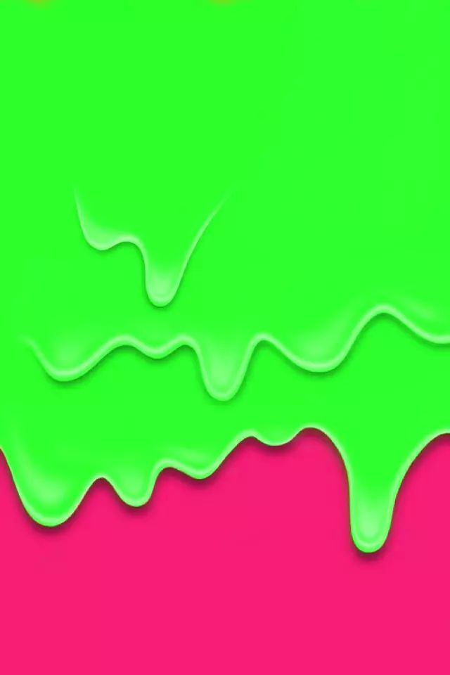 Slime background on We Heart It Iphone wallpaper, Apple