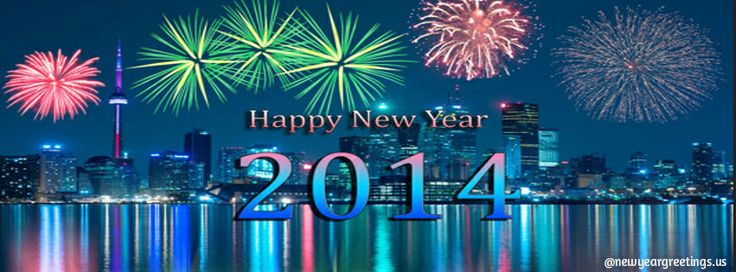 Happy New Year 2014 Facebook Timeline Cover Photo