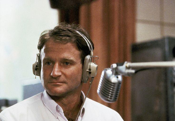 Robin Williams played radio DJ Adrian Cronauer in director Barry Levinson's comedy drama, Good Morning Vietnam in 1987.