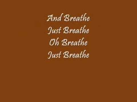 "it's secular but I <3 this song, her voice, the music! ""Breathe (2 AM)"" By: Anna Nalick WITH LYRICS"
