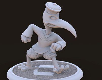 "Check out new work on my @Behance portfolio: ""Giant Sculpture Sebastian the Ibis Hurricanes"" http://be.net/gallery/52383819/Giant-Sculpture-Sebastian-the-Ibis-Hurricanes"