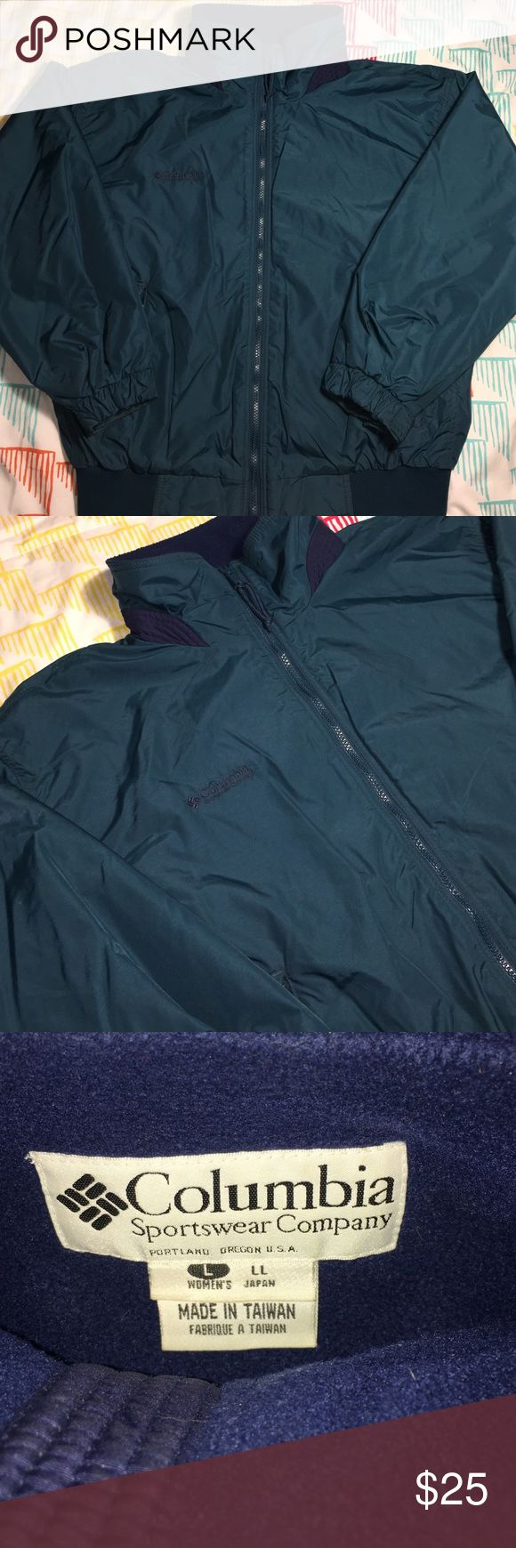 Columbia Sportswear Fleece Lined Jacket Size Large - Condition 9.5/10 Columbia Jackets & Coats