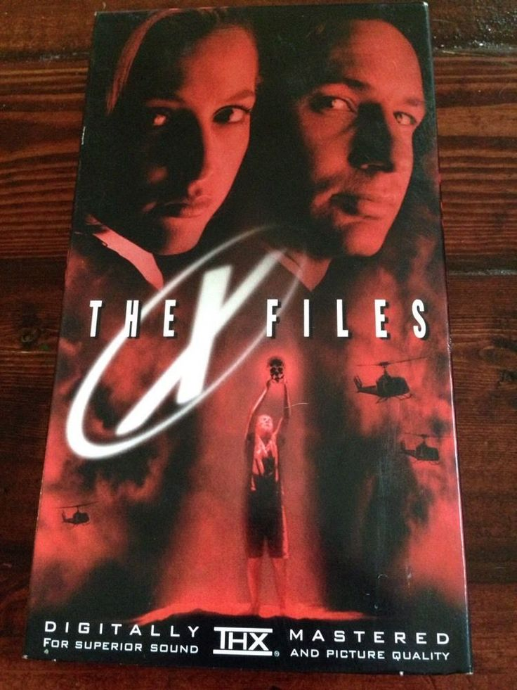 The X-Files: Fight the Future (VHS, 1998) Duchovny Anderson