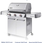 Enter to #win a Weber Genesis Grill For Father's Day! #sponsored