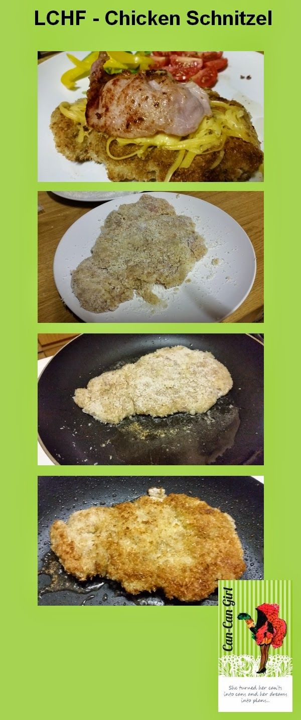 We've recently started following the Low Carb High Fat Lifestyle. I am constantly looking for ideas and recipes in order to keep the lifestyle exciting. I my quest I joined a number of Facebook pages and groups where I get a lot of ideas. I recently stumbled across this Coconut covered Chicken Schnitzel. It takes the same amount of time as a normal chicken schnitzel to prepare. #Chickenschnitzel #LCHF #Banting #Lowcarb #Chicken