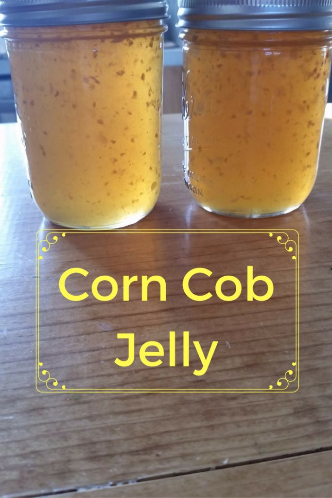 Corn Cob Jelly -  It tastes just like honey!