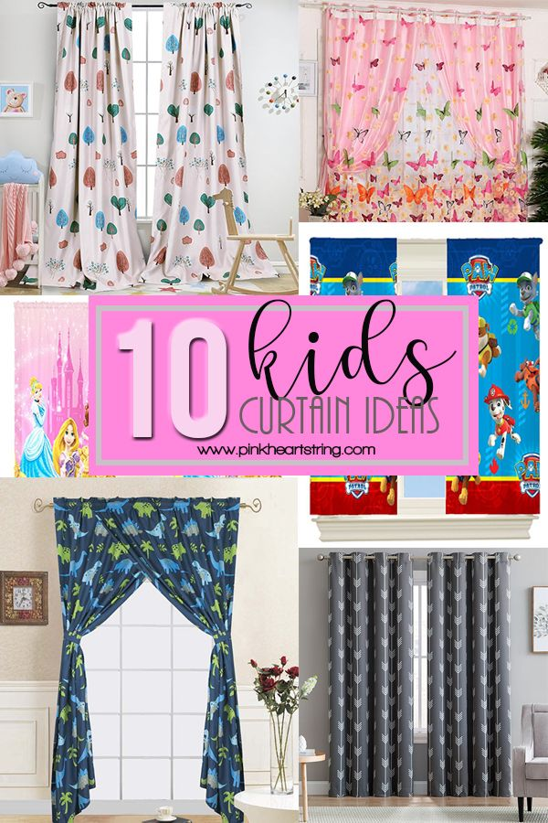 Kids Curtain Ideas for the Bedroom | Kids room curtains ...