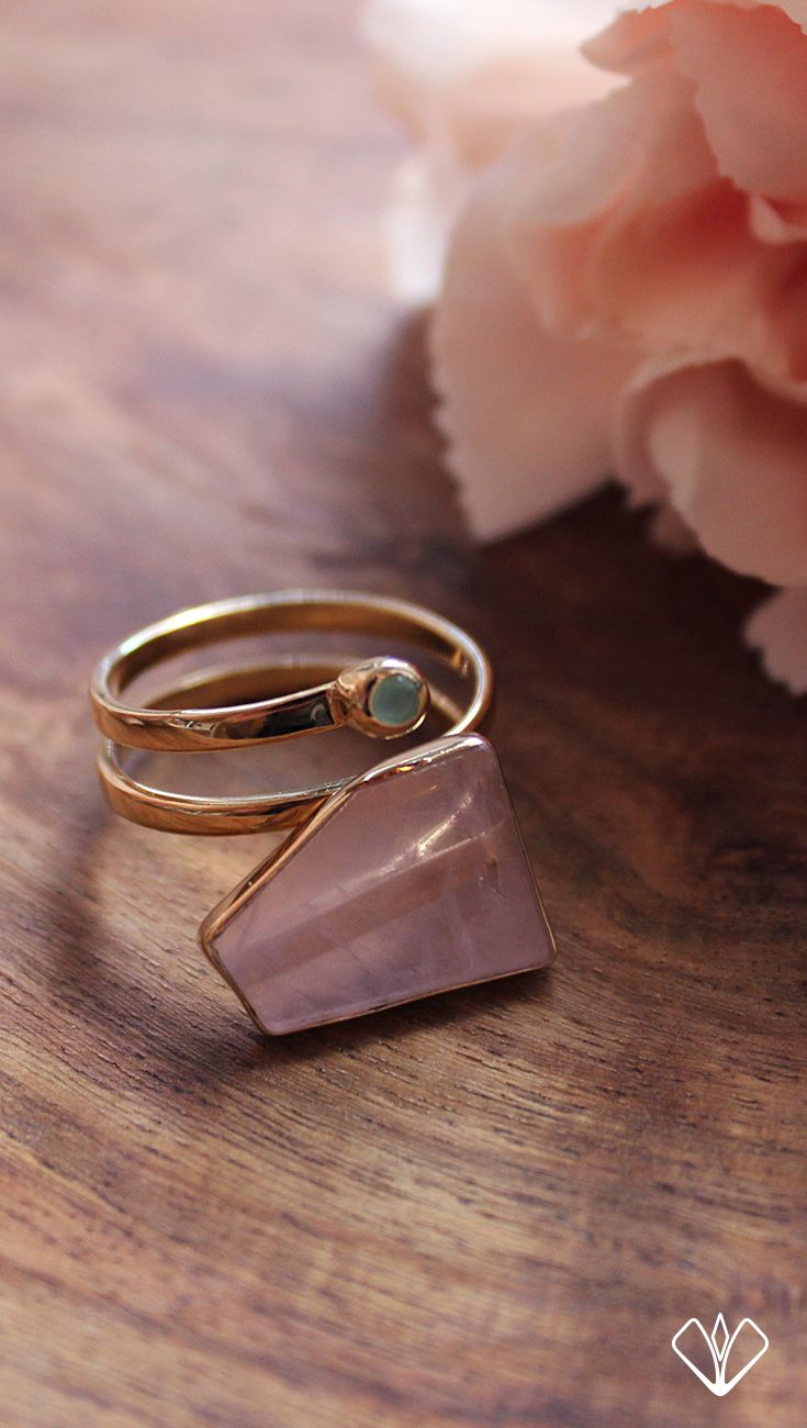 Currently crushing on our Rose Quartz Superhero Ring