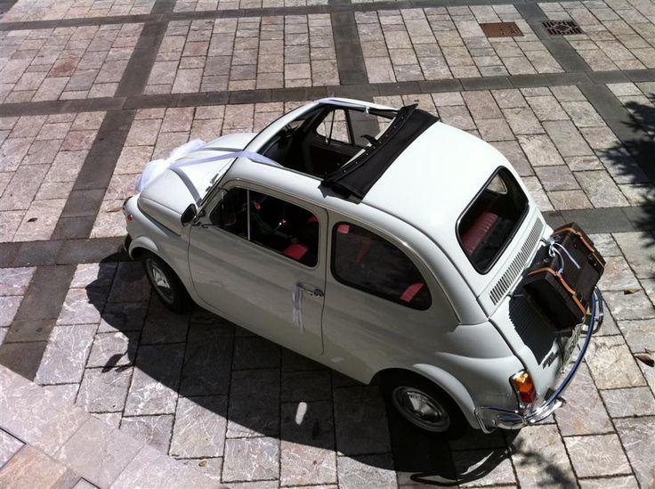 Fiat 500 - Wedding Car  #500vintagetour