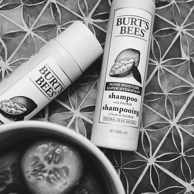 New favourite addition to the hair care hall of fame: Burt's Bees shampoo and conditioner!