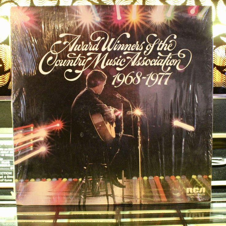 RARE: Award Winners Of The Country Music Association 1968-1977 - Vintage Country Folk Vinyl Record LP by VinylLoversUnite on Etsy