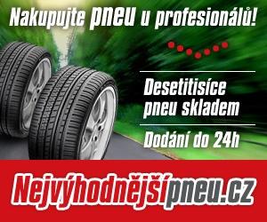 Desetitisíce pneu skladem a dodání do 24 hod.