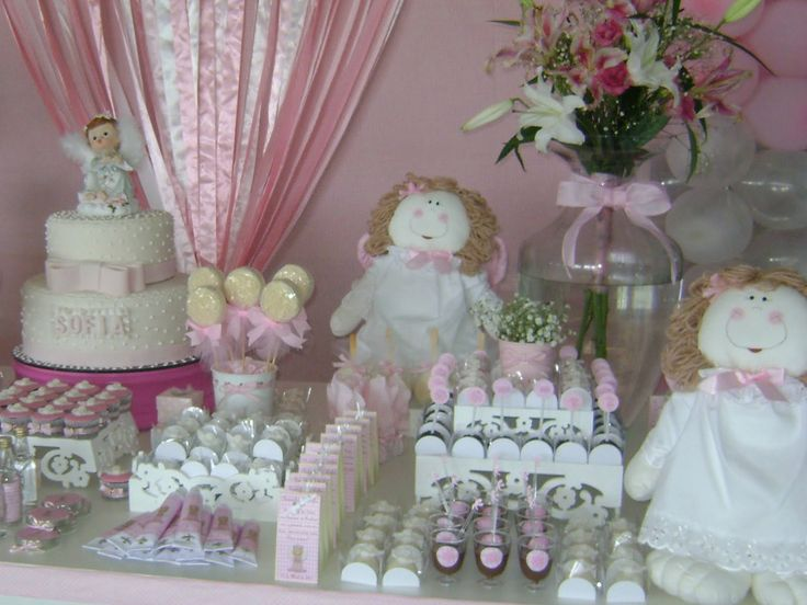 17 best ideas about girl baptism decorations on pinterest for Baby dedication decoration