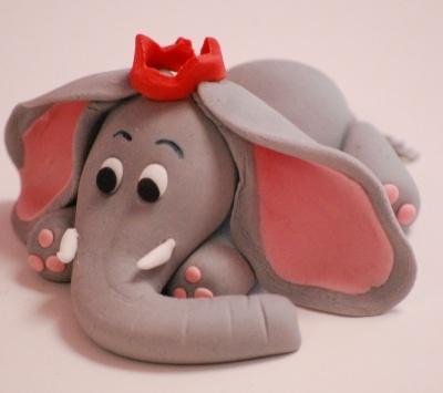 Little Baby Elephant Cake