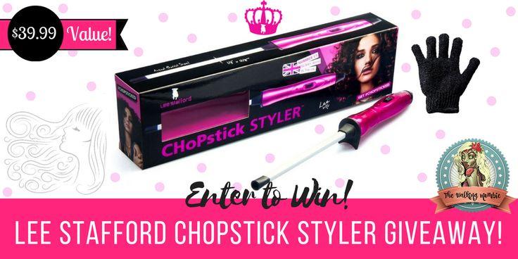 """I added """"Lee Stafford Chopstick Styler Giveaway!"""" to an #inlinkz linkup!http://www.thewalkingmombie.com/single-post/2017/01/19/Lee-Stafford-Chopstick-Styler-Giveaway-3999-Value"""