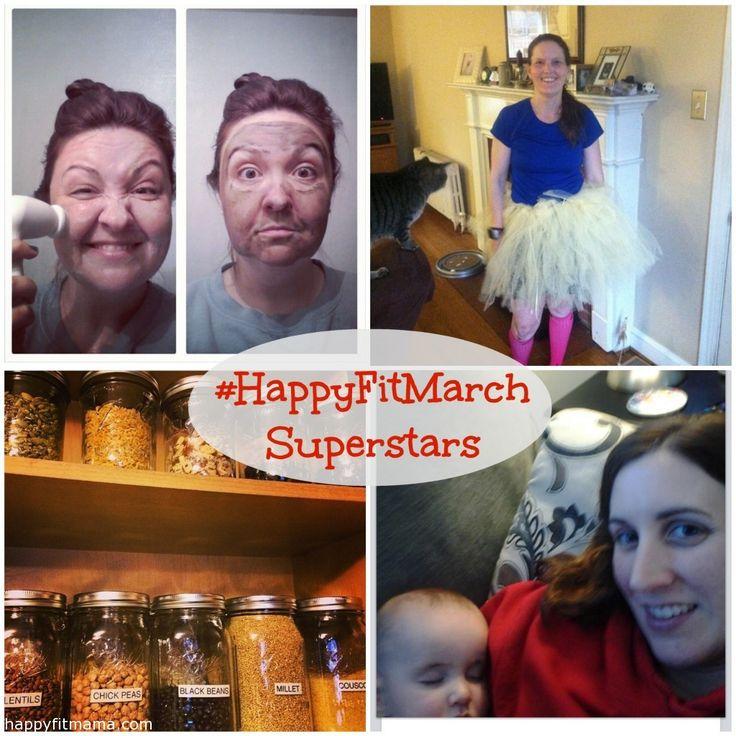 #HappyFitMarch Challenge Winners!