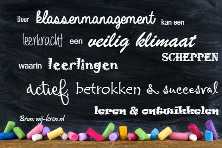 Populair basisartikel over goed klassenmanagement