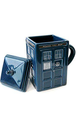 Figural de Doctor Who Tardis taza, 17oz