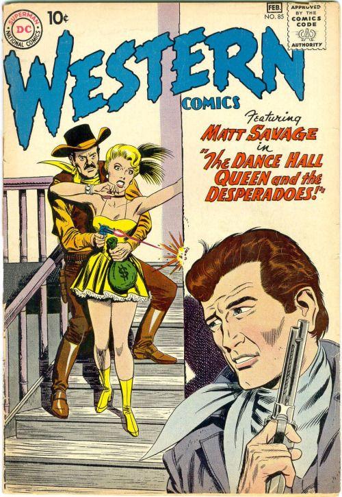 Western Comics #85, February 1961, Pencils: Gil Kane, Inks: Joe Giella