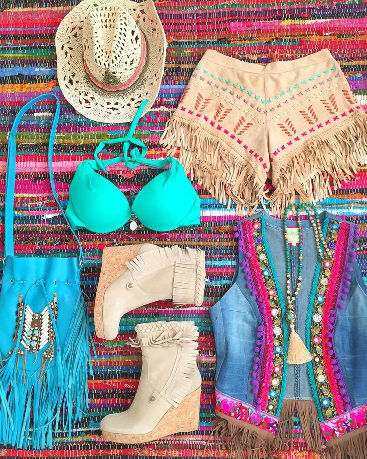 Friday vibes Some fab fringe boho boots islaibizabonita with fringehellip