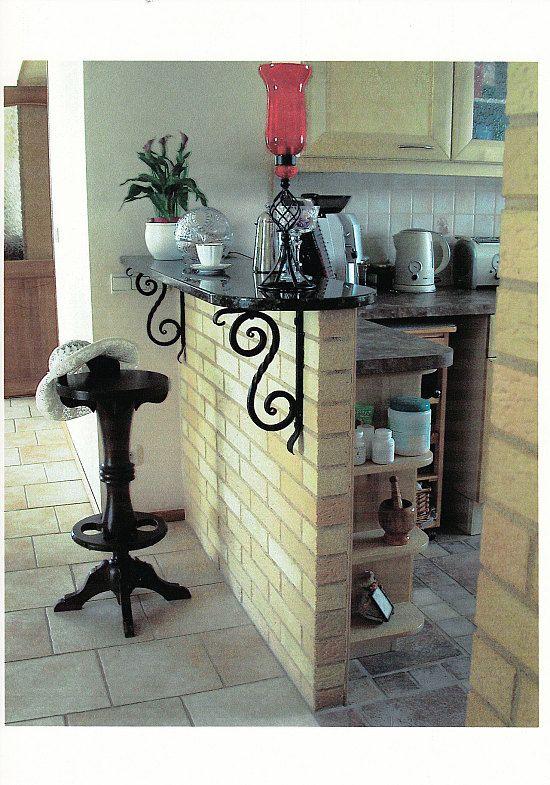 Промежуток между столовой и кухней