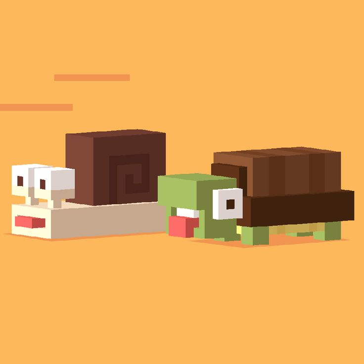 Crossy Road chicken