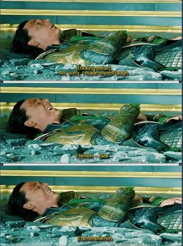 Hahaha love Tom Hiddleston! And the Avengers!!