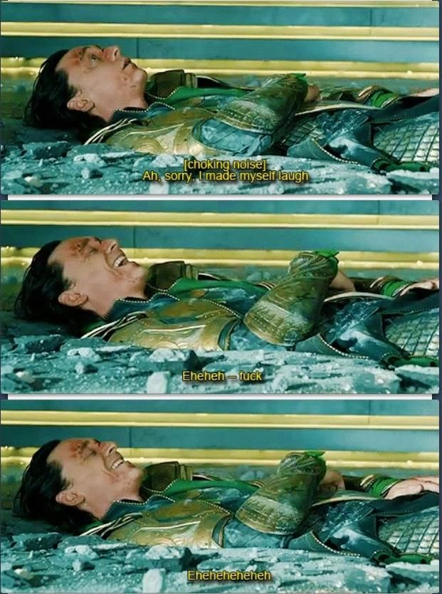 Hahaha love Tom Hiddleston! And the Avengers!!