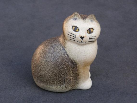 Vintage Swedish Lisa Larson Signed Ceramic by gothenburgcollection