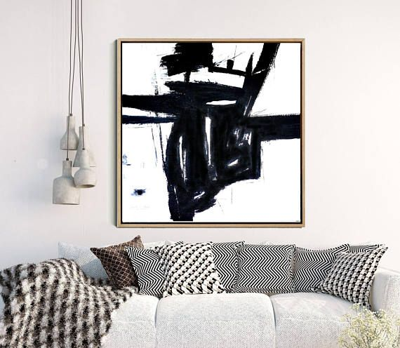 Black And White Art, Abstract Wall Art, Abstract Print, Black Abstract Art, Minimalist Art Print, Home Decor, Wall Decor, Instant Download