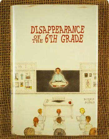 Moonrise Kingdom book cover Disappearance of the 6th Grade.