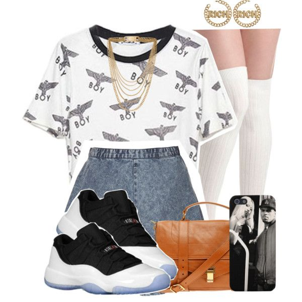 A fashion look from September 2013 featuring Topshop skirts, Proenza Schouler shoulder bags and Michael Kors necklaces. Browse and shop related looks.