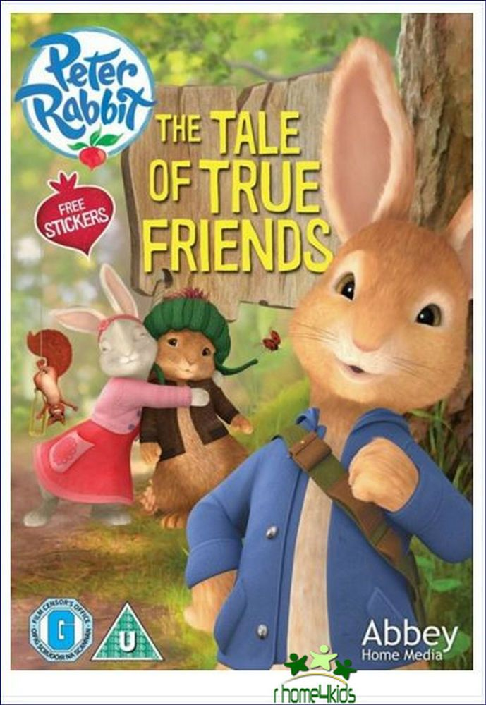Kids New Great S 4 Family Movie Peter Rabbit The Tale Of True