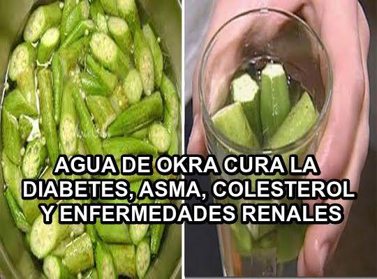 Salud al Día: AGUA DE OKRA CURA LA DIABETES, ASMA, COLESTEROL Y ...