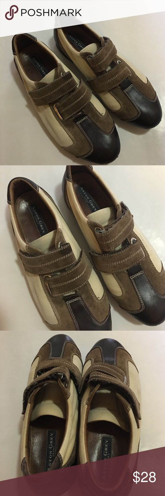 ⚡️Sale⚡️Aston Grey -Men's Handmade, Leather shoes Aston Grey Sport men's handmade, genuine leather shoes, size 9.5 but fit like a 10-10.5 In great preowned condition with lots of life left in them. Please be sure to check out all of my other men's items to bundle and save! Same day or next business day shipping is guaranteed. Reasonable offers will be considered! Aston Grey Shoes