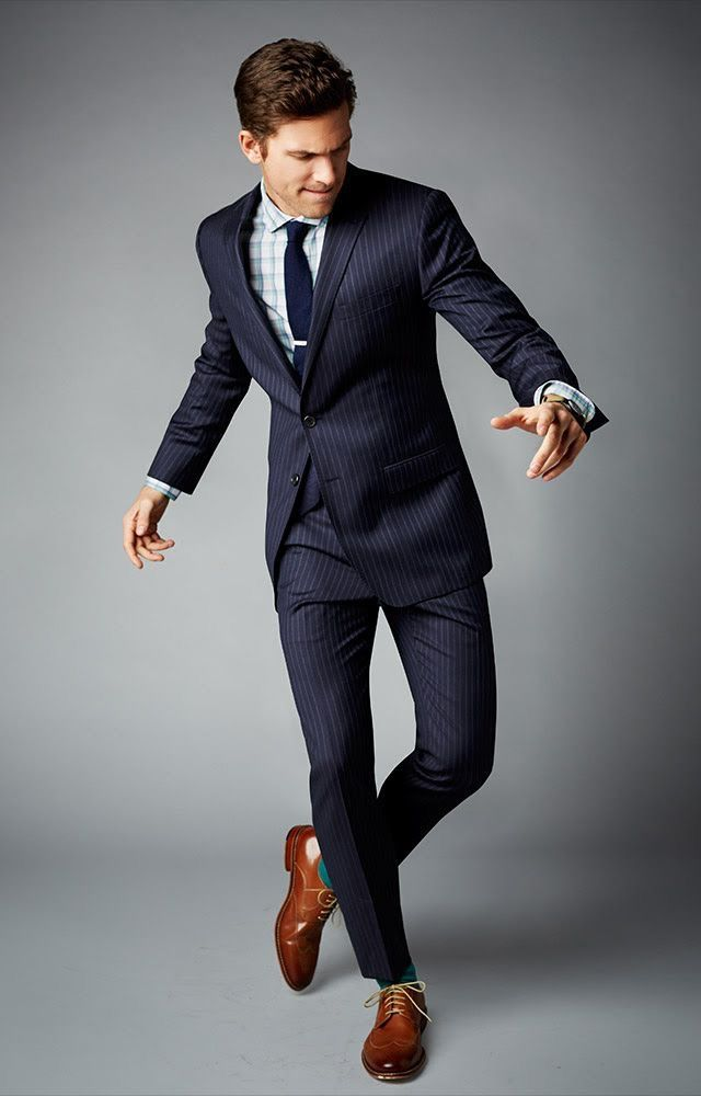 A perfectly tailored suit goes a long way!