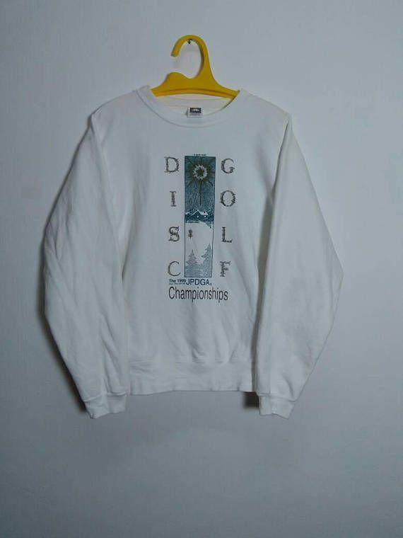 Vintage 1995 DISC GOLF BJPDGA Championship Hero Kobo Sweatshirt by ArenaVintage