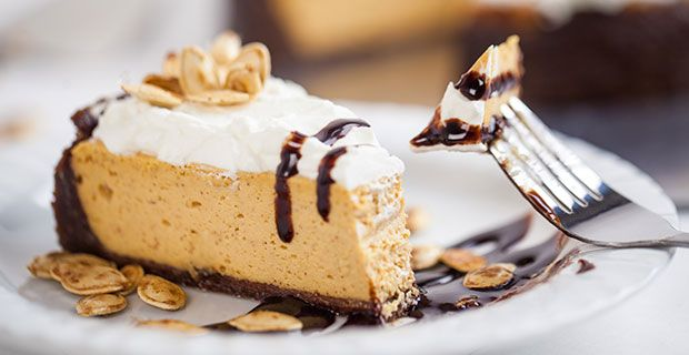 Make your holiday feast complete with a spin on the traditional pumpkin pie. Your guests won't believe this delicious pie is a reduced-calorie dessert.