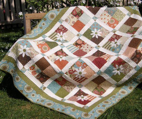 Nanny Sharon's Picnic Quilt
