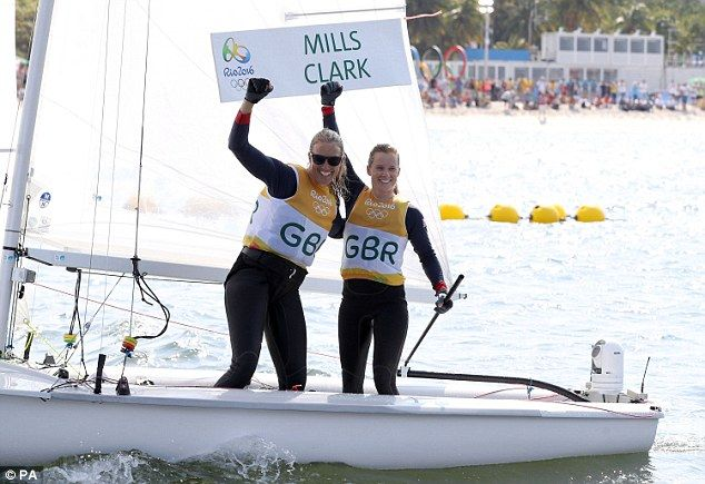 British sailors Hannah Mills and Saskia Clark FINALLY win gold
