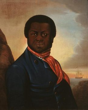 "Paul Cuffee (1759-1817) was the richest African American in the United States during the early 1800's, but never stopped championing the cause of better conditions for his people. At the age of 19, he sued the Massachusetts courts for the right to vote stating that taxation without representation should be illegal. He built on his own farm, New Bedford's only school for the children of ""free Negroes"" and personally sponsored their teachers. He authored the first document of its kind…"