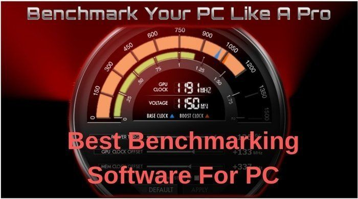 Benchmark is a software program to assess the performance of