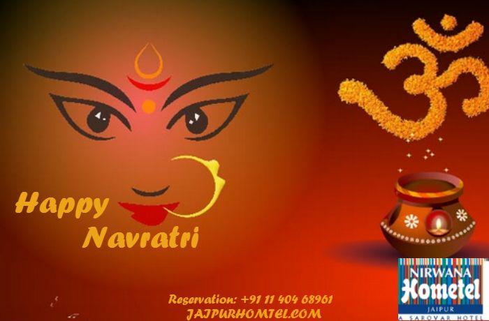 Let us celebrate the victory of good over evil, The victory of humanity, The victory of justice, The victory of truth. Wish you a very Happy Chaitra Navratri #Navratri #ChaitraNavratri2017 #festivalinindia #jaimatadi #NavratriFestival #NirwanaHometelJaipur #JaipurHometel #HotelsinJaipur