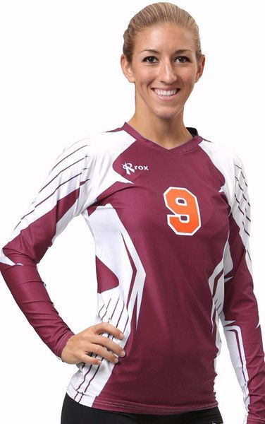 Boom Volleyball Jersey offers a Performance driven Professional looking seamless jersey. Option to fully sublimate this Volleyball Jersey in our Uniform Design Studio. See Sublimated Volleyball Jersey
